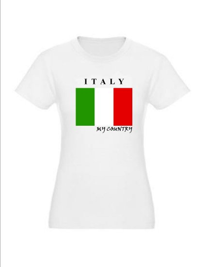 "My Country Patriotic T-shirts ""Italy"""