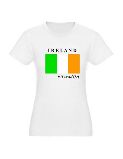 "My Country Patriotic T-shirts ""Ireland"""