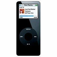 Apple iPod Nano 1 GB Negro