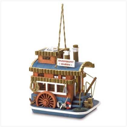 Queen Boat Birdhouse  37922