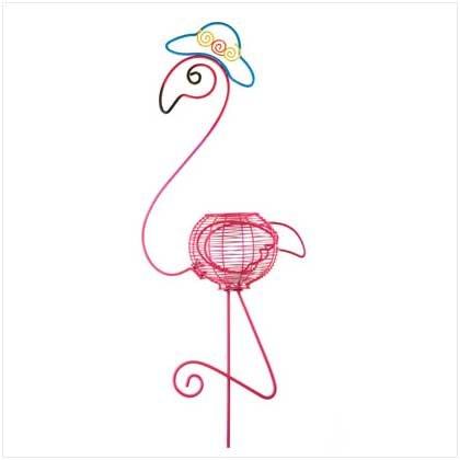 Flamingo Flower Pot Holder  37889