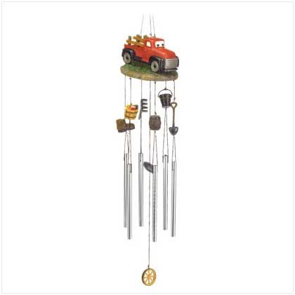 Tractor Windchimes  37966