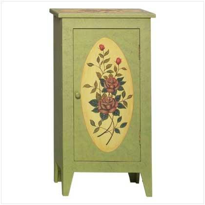 Rose Paneled Cabinet  35281