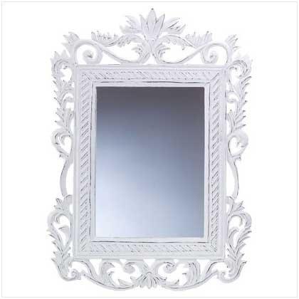 Genteel White Mirror  33551