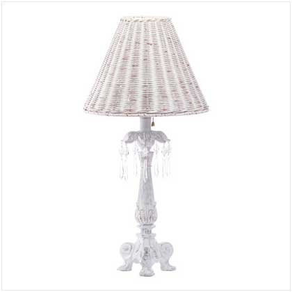 Crystal-Accented Column Lamp  32411