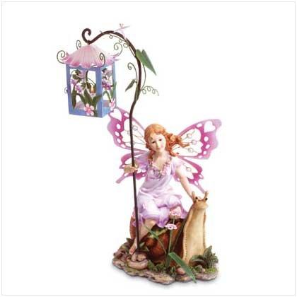 Garden Fairy Candle Lantern   34680