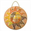 Terra Cotta Sun Face Plaque  37935