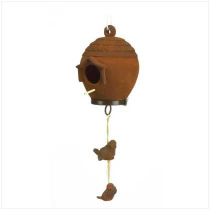 Ceramic Birdhouse  37949