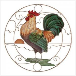 Crowing Rooster Sun-Catcher  31697