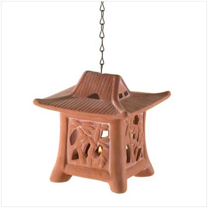 Bamboo Pattern Tealight Holder  37599