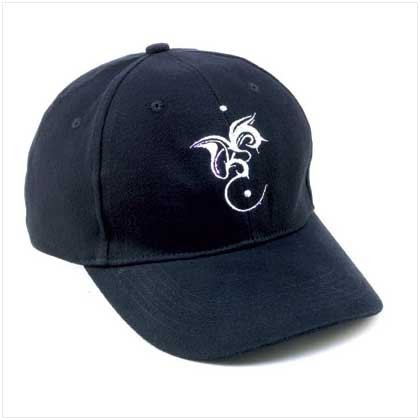 Black Dragon Logo Cap with LED Lights  38075
