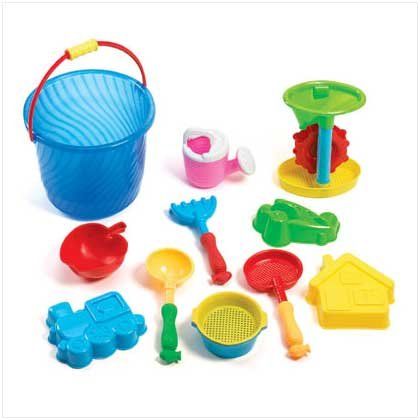 Sand Bucket Beach Toy Play Set  36585