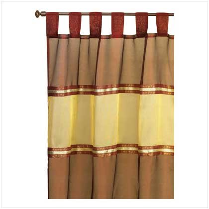 Imperial Burgundy Curtain  35349