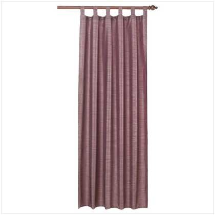 Blueberry Polystrait Curtain  37032
