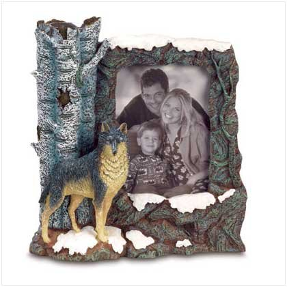 Wolf Photo Frame 38039