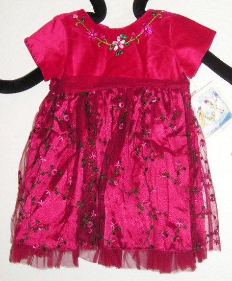 Two Turtle Doves by Sweet Potatoes Baby Girls Boutique Dress Size 24M New NWT