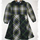 Classic Plaid School Dress Girls Size 6 CWD Boutique