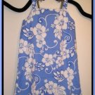 Girls Boutique Tropical Floral Blue Dress CWDkids Size 14 New NWT