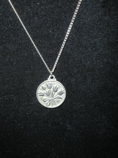 VINTAGE 1980 OHIO Spring Hill Nursery Promotional Necklace