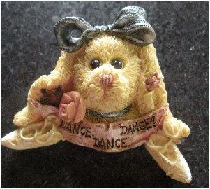 Ceramic Novelty �Dance� Ballet Brooch
