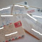 6 Vintage Letters from Air Force to Family in Indiana