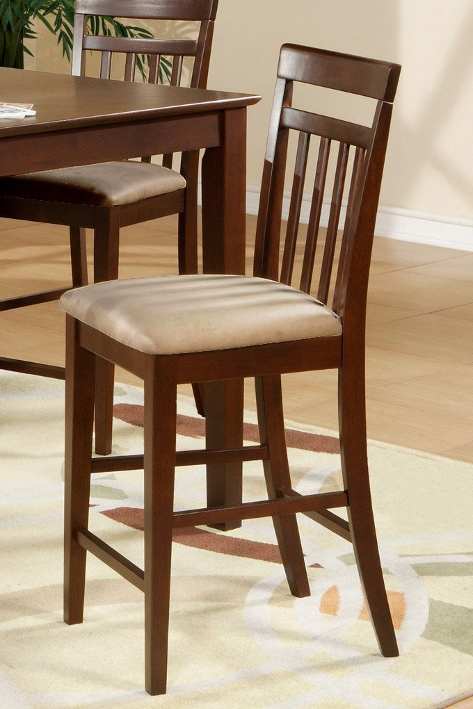 Set Of 3 Ew Counter Height Chair Bar Stools With