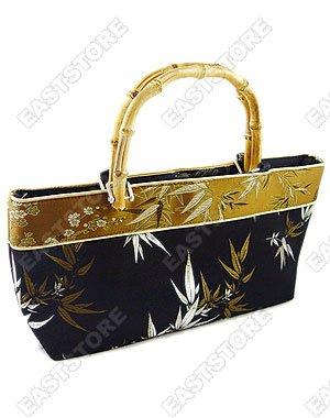 Bamboo Brocade Handbag