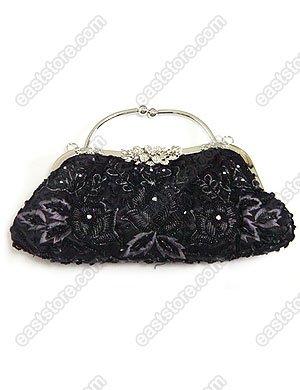 Beaded and Embroidered Handbag