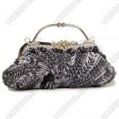 Handbeaded Floral Pattern Handbag