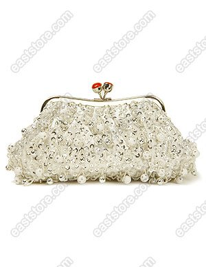 Beads and Pearls Evening Bag
