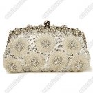 Beaded Sun-Flower Evening Bag