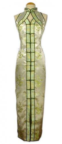 Chinese Brocade Dress-Chic Chinese Pattern Brocade Dress