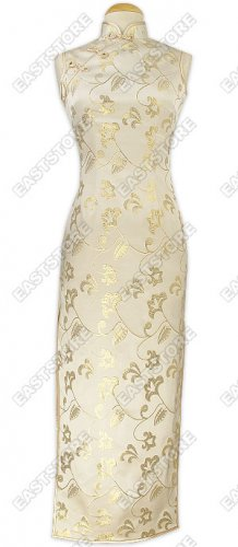 Distinguished Floral Pattern Silk Dress