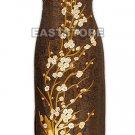 Exquisite Mei Hua Embroidery Silk Crape Cheongsam