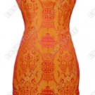 Traditional Double-Fishes Silk Cheongsam