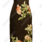 Fragrant Peonies Embroidered Silk Crape Cheongsam