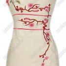 Plum Blossom Embroidered Silk Cheongsam