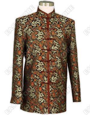 Refined Dragon Brocade Man Jacket