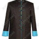 Dragon Pattern Quilted Silk Brocade Man Jacket