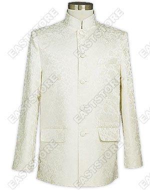 Men's Dragon Pattern Silk Brocade Jacket