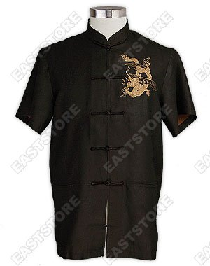 Noble Dragon Embroidered Shirt