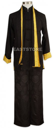 Cool Double Happiness Silk Kung Fu Suit