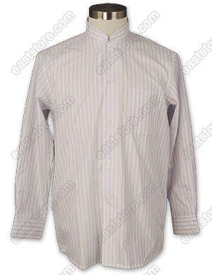 Lavender Striped Cotton Shirt