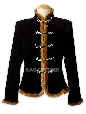 Fitted Velvet Jacket