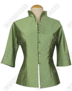 Simple Thai Silk Blouse