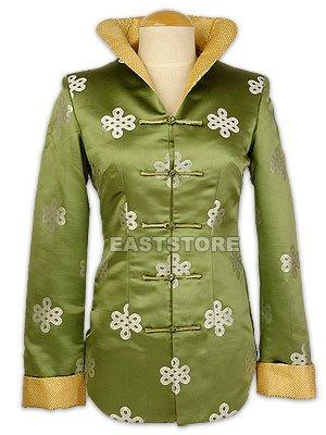Elegant Chinese Knot Brocade Jacket