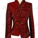 Chinese Calligraphy Brocade Jacket