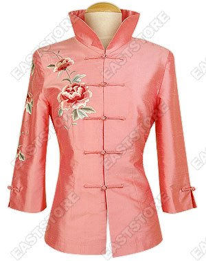 Spellbinding Peony Embroidered Blouse