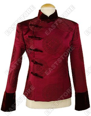 Stately Chinese Knot Icon Jacket