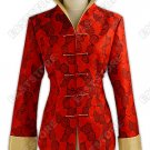 Graceful Rose Brocade Jacket
